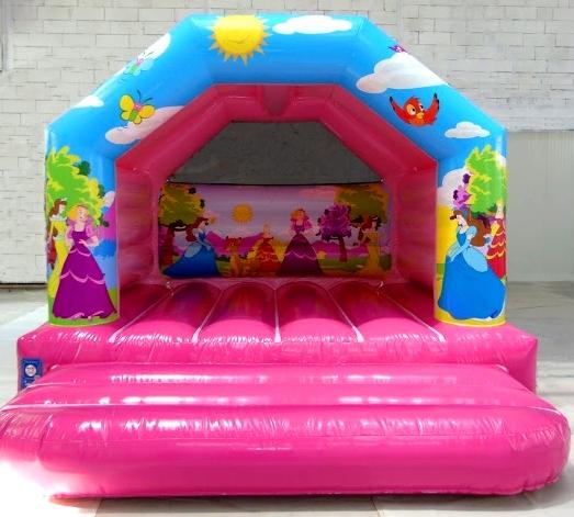 Springkussens Prinses Roze