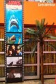 Jaws banner filmstrip carecaverhuur beach hollywood shark attack movie film verhuur huur huren