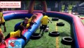 mad soccer race parcours voetbalspel dribble battle